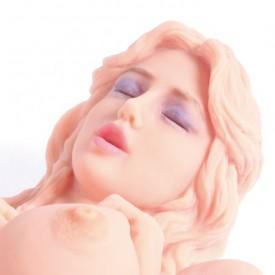 Мастурбатор Victoria с вагиной и анусом без вибрации